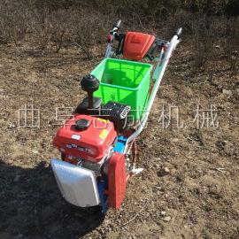 新品农用汽油链轨式耘播机玉米大豆播种施肥机