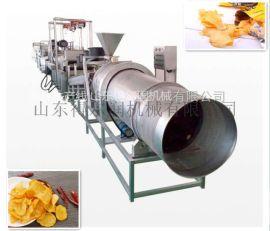 鲜切高产薯片生产线,红薯片生产线,天然薯条流水线