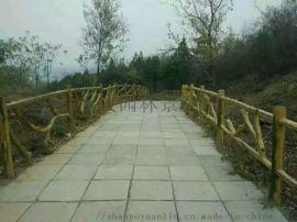 湖北仿木栏杆制作湖北手工仿木栏杆安装