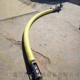 廠家定製軟管吸糧機價格低 粉料輸送機