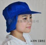 防尘帽子/防尘帽定做/防尘护耳帽/防尘护发帽