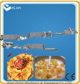山东高质量玉米片生产线 玉米片膨化机