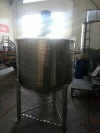 润滑油单层搅拌拌罐不锈钢洗衣混合罐山东威海