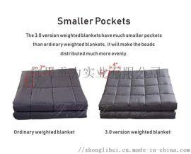 重力毯48*72英寸 15磅小格子棉内胆