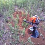 四冲程汽油植树挖坑机果园施肥挖坑机大棚立柱挖坑机