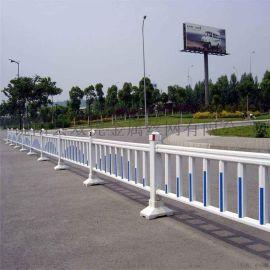 道路隔离护栏 广告板中心街道围栏 市政护栏网
