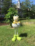三明玻璃鋼模擬綿羊雕塑廠家 南平園林卡通動物雕塑