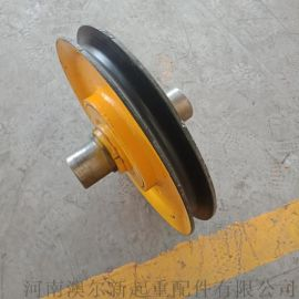 起重机滑轮组  **铸钢定滑轮 20t轧制滑轮组