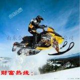 不一样的感觉 冰上游乐设备 雪地摩托 冬季雪橇车