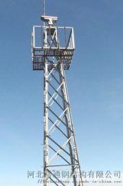 18米角钢结构森林防火监控塔