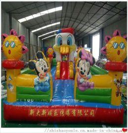 大型儿童充气城堡气堡床厂家直销