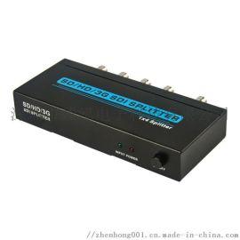 3G SDI一进四出分配器1080P 高清分配器