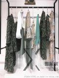 上海一线品牌昆诗兰折扣女装走份批发专柜正品货源渠道