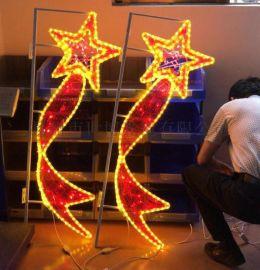 路灯杆造型装饰春节亮化 2020年街道装饰灯
