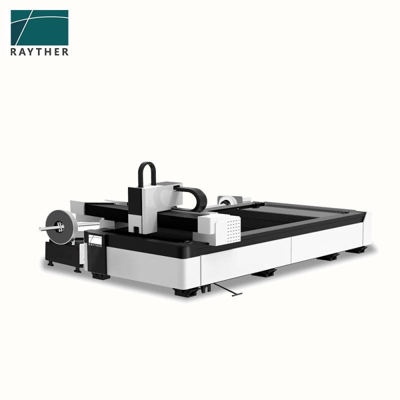 金属激光切割机大包围交换台精密光纤激光切割机