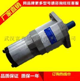 合肥长源液压齿轮泵CBHC-F18-ALΦ电动叉车低噪音齿轮油泵