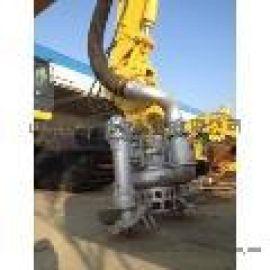 江淮大功率挖机抽沙泵 加厚耐磨渣浆泵 液压清淤泵