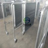 加工定製各種異形鋼管空氣加熱器