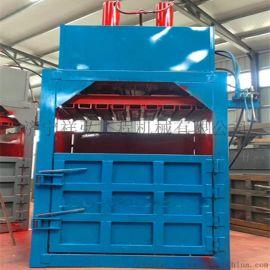 有色金属边角料立式80吨双缸液压打包机