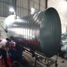 白铁螺旋风管加工 佛山市南海区通畅螺旋风管厂