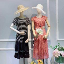 桑蚕丝女装始终如衣库存尾货服装半身裙春美多女装摆地摊卖女装进价