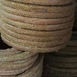 供应**黄油棉纱盘根 水泵密封用油浸棉纱盘根