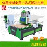 SUBA全自动木工开开料机 橱柜衣柜定制家具生产线