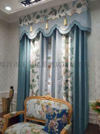 定做工程帘 家用窗帘 欧式窗帘 成品帘