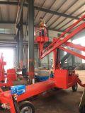 施工工业液压举升机菏泽市启运销售旋转曲臂登高梯