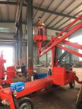 施工工業液壓舉升機菏澤市啓運銷售旋轉曲臂登高梯