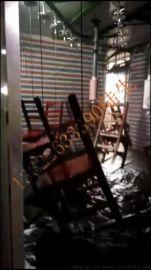 意鸿厂家供应整张实木餐桌椅全自动静电喷涂生产线