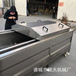 蒸汽加热漂烫机 黄花菜漂烫机低噪音传送平稳