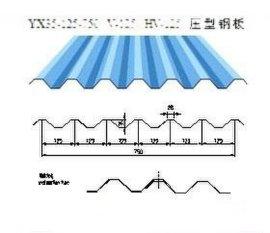 v-125彩钢压型板YX35-125-750