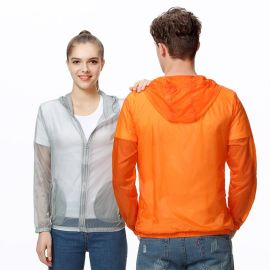 夏季防晒衣男女轻薄透气皮肤衣户外情侣长袖工作服外套