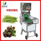 蒜苔辣椒圈芹菜韭菜切段 长短可调节 电动变频切菜机
