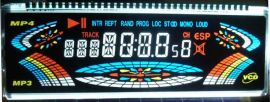 汽车音响LCD黑膜、VA高清液晶屏!