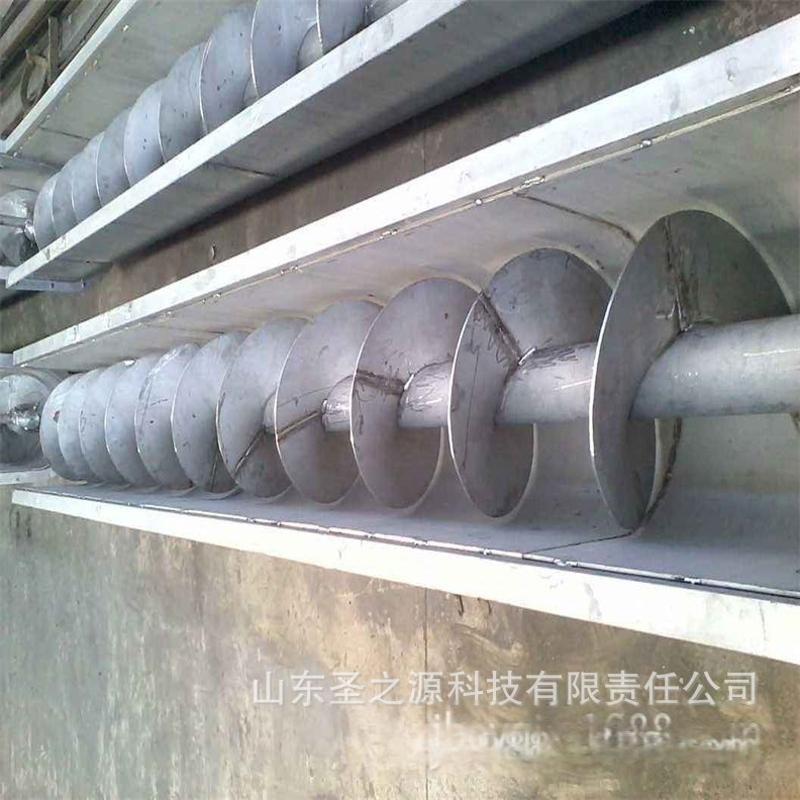 垂直管式螺旋輸送機 大量現貨螺旋葉片 304不鏽鋼螺旋輸送機報價