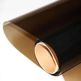 销售茶色玻璃装饰膜太阳膜闸机玻璃贴膜半透
