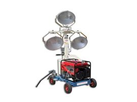 路得威移動照明車型號齊全,CE認證擁有出口資質大型移動照明車
