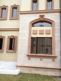 广东建筑外墙GRC水泥构件线条 饰线
