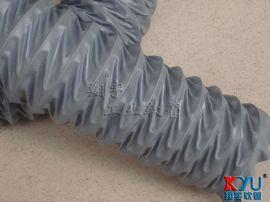 耐高温风管,灰色伸缩风管,工业排风管