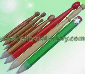 鼓槌铅笔/工艺铅笔/大铅笔/新款铅笔/奇特铅笔