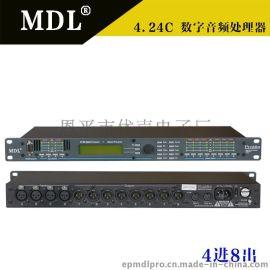 4.24C 数字音箱处理器 专业音响周边 防啸叫音频效果器