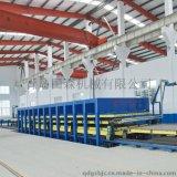大型移动房舱复合板层压机生产设备