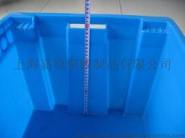 精密仪器包装箱塑料物流箱带盖