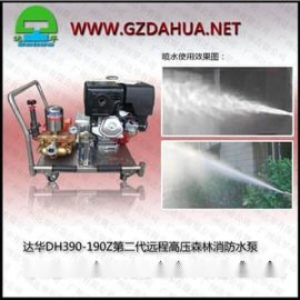 达华DH390-190Z高压泵高扬程泵消防泵远程高压森林消防水泵
