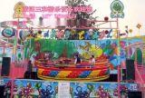 洛阳三和丨儿童游乐设备丨移动迪斯科转盘丨方便拆卸安装