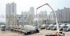 山东鸿达HZS90混凝土拌和站各系统生产原理