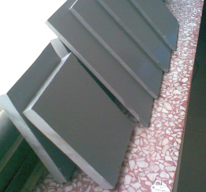 工业级灰色PVC板,PVC塑料板耐酸防腐2-30mm可定制尺寸