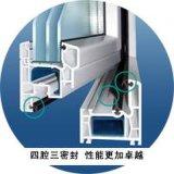 寶碩·德沛斯塑鋼門窗型材 -65平開